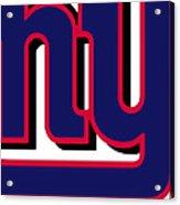 New York Giants Football 2 Acrylic Print