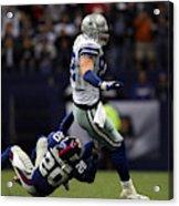 3e0f21e5ea4 New York Giants V Dallas Cowboys Art Print by Ronald Martinez