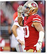 New York Giants V San Francisco 49ers Acrylic Print