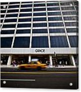 New York Grace Building Acrylic Print