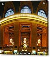 New York - Grand Central Station Acrylic Print