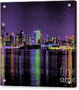 New York In Color Acrylic Print