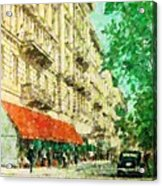 New York In The Forties Acrylic Print