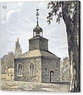 New York: Jamaica Church Acrylic Print