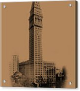 New York Landmarks 2 Acrylic Print
