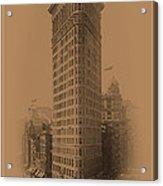 New York Landmarks 3 Acrylic Print