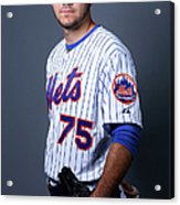 New York Mets Photo Day Acrylic Print