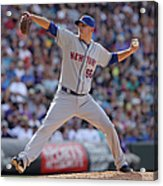 New York Mets V Colorado Rockies Acrylic Print