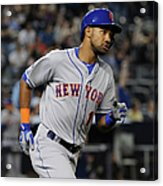 New York Mets V New York Yankees Acrylic Print