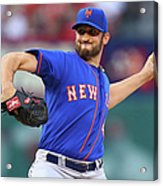 New York Mets V St. Louis Cardinals Acrylic Print