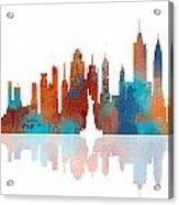 New York New York Skyline  Acrylic Print