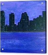 New York Night Acrylic Print