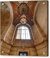 New York Public Library Stairwell Acrylic Print