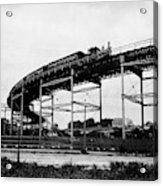 New York Railroad Bridge Acrylic Print