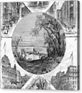 New York Saratoga, 1874 Acrylic Print
