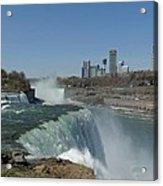 New York Side Of Niagara Falls Acrylic Print