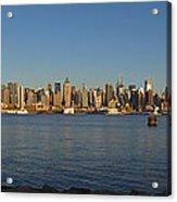 New York - Skyline Of New York Acrylic Print