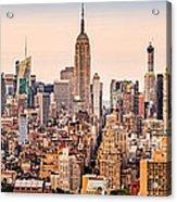 New York Skyline Panorama Acrylic Print