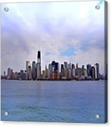 New York - Standing Tall Acrylic Print by Bill Cannon