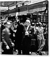 New York Stock Exchange 1963 Acrylic Print