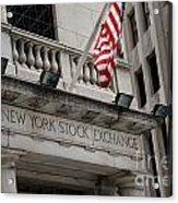 New York Stock Exchange Building Acrylic Print
