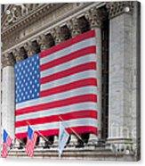 New York Stock Exchange IIi Acrylic Print