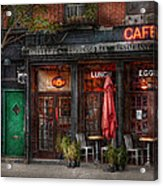New York - Store - Greenwich Village - Sweet Life Cafe Acrylic Print
