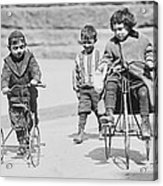 New York Street Kids - 1909 Acrylic Print