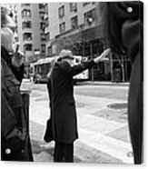 New York Street Photography 16 Acrylic Print