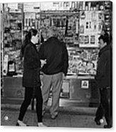 New York Street Photography 18 Acrylic Print