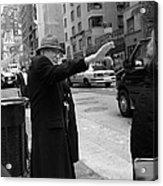 New York Street Photography 27 Acrylic Print