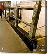 New York Subway Acrylic Print