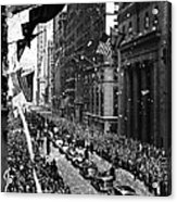 New York Ticker Tape Parade Acrylic Print