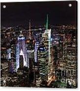 New York Times Square Acrylic Print