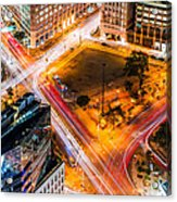 New York Traffic Acrylic Print