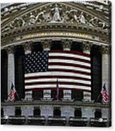 New York - Wall Street Panoramic Acrylic Print
