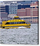 New York Water Taxi Acrylic Print