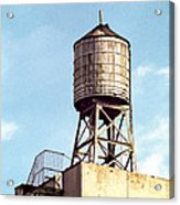 New York Water Tower 1 - New York Scenes  Acrylic Print