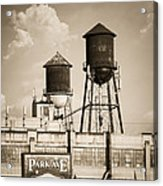 New York Water Tower 8 - Williamsburg Brooklyn Acrylic Print