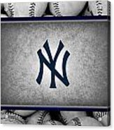 New York Yankees Acrylic Print by Joe Hamilton