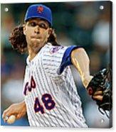 New York Yankees V New York Mets Acrylic Print