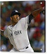 New York Yankees V Texas Rangers Acrylic Print