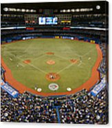 New York Yankees V. Toronto Blue Jays Acrylic Print