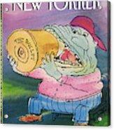 New Yorker April 19th, 1993 Acrylic Print