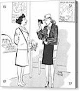 New Yorker April 29th, 1944 Acrylic Print