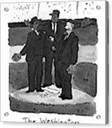 New Yorker April 5th, 1993 Acrylic Print