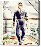 New Yorker April 9 1938 Acrylic Print