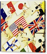 New Yorker August 6 1932 Acrylic Print