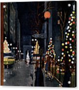New Yorker December 10th, 1955 Acrylic Print