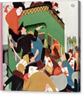 New Yorker December 12th, 1931 Acrylic Print